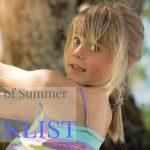 Last Week of Summer Checklist
